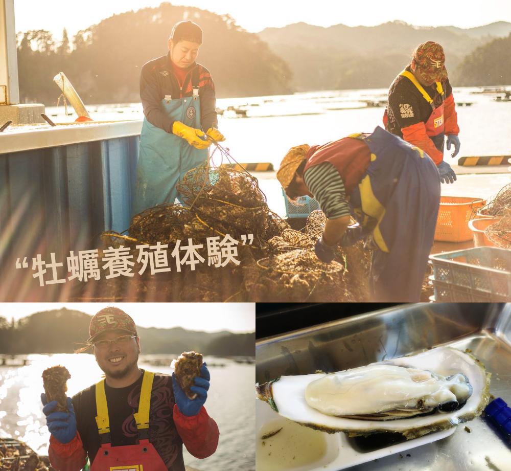 牡蠣養殖体験